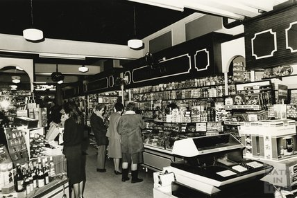 The Food Hall at Jolly's, Milsom Street, Bath 27 Feb 1986
