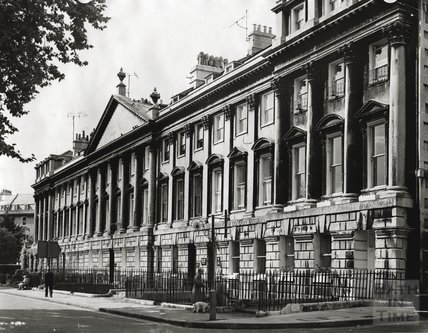 The north side of Queen Square, c.1960s