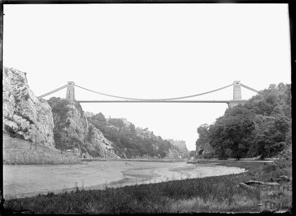 Clifton suspension bridge, Bristol c.1930s