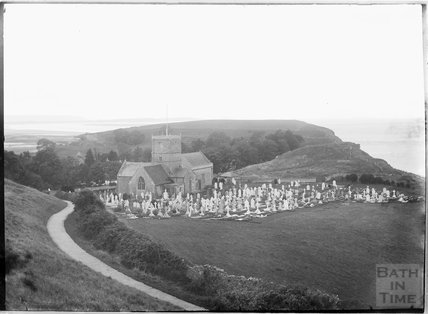 St Andrews Church, Clevedon, North Somerset c.1930s