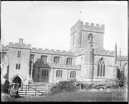 Edington Priory, Wiltshire, c.1910