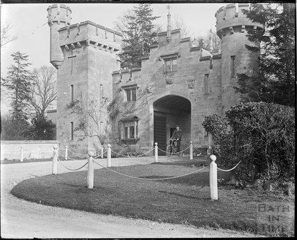 Bath Lodge, gateway near Farleigh Hungerford, c.1910s