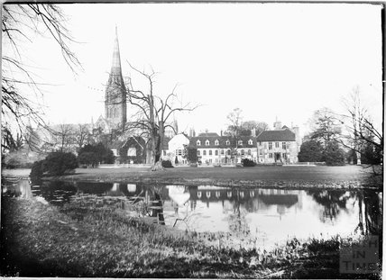 View of Salisbury Cathedral, c.1930s