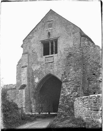 Gatehouse, Cleeve Abbey, near Washford, Somerset, c.1920s