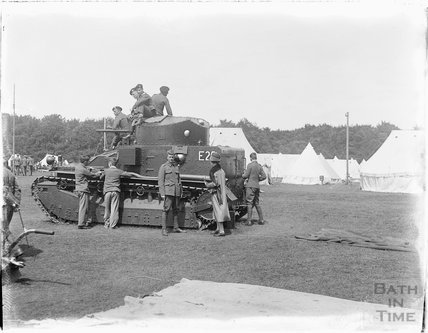 Tank, Camp Officers Training Camp, Tidworth, Wiltshire 1927