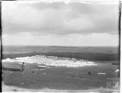 Camp Officers Training Camp, Tidworth, Wiltshire 1927