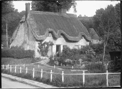 Thatched cottage, West Lavington, Wiltshire, c.1930s