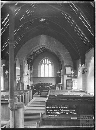 Garsdon Church, Malmesbury, Wiltshire c.1930s