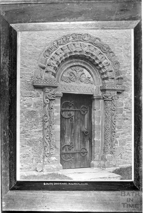 South Doorway, Kilpeck, South Herefordshire c.1930s