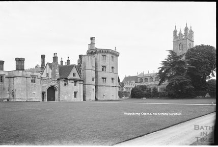 Thornbury Castle and church of St Mary the Virgin c.1930s