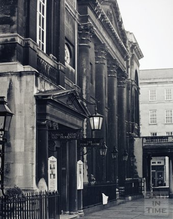 The Pump Room, Abbey Church Yard, pre 1973