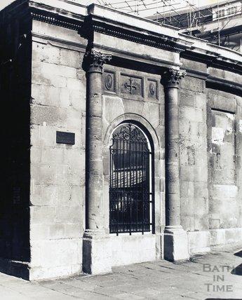 The Cross Bath, pre 1973