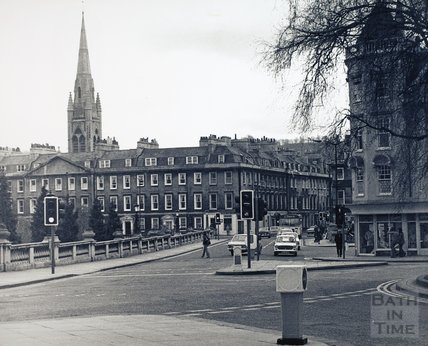 Grand Parade & North Parade, Bath, pre 1973