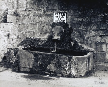 Horse drinking trough, Bathampton, pre 1973