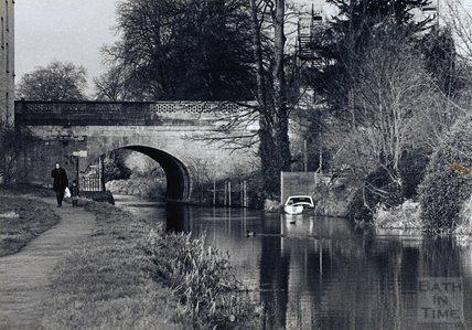 A stroll along the Kennet and Avon Canal, Bathwick, Bath c.1980