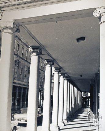 The Colonnade, Bath Street, pre 1973