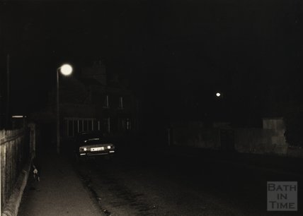 Darkness in Combe Down village, c.1950s
