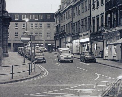 Bridge Street, Bath, pre 1973