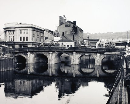 The Old Bridge, Bath, early 1969