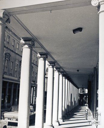 The Colonnade, Bath Street, pre 1973