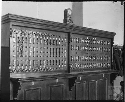 Telephone Exchange, Bath c.1900s?