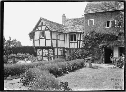 Unidentified timber framed house, 1937