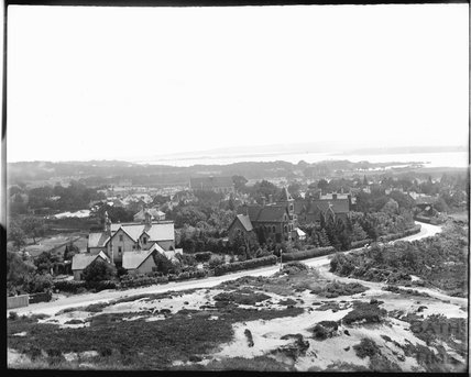 View over Parkstone and Poole Harbour from Constitution Hill, c.1900s