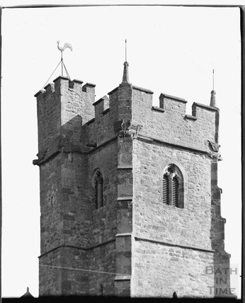 Church of St Mary, Stogumber, Somerset c.1930s
