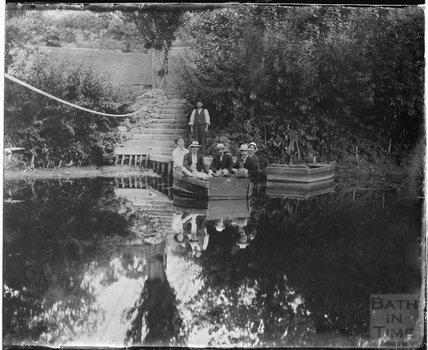 Warleigh Ferry, c.1900s