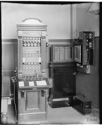 Telephone Exchange, Bath c.1900s?