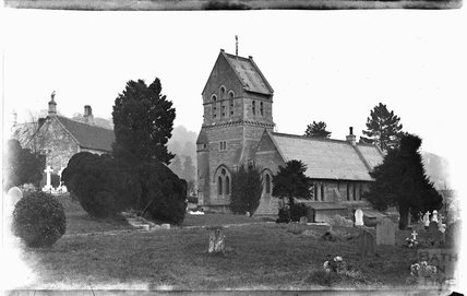 St Michaels Church, Monkton Combe, c.1900s