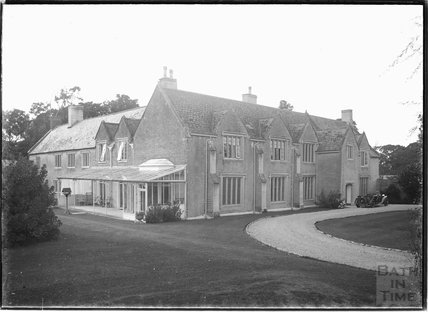 Shapwick Manor, near Street, Somerset, 1937