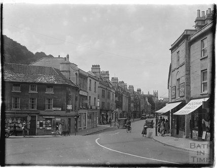 Claverton Street, Widcombe and Post Office, c.1930s