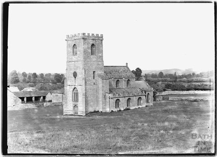 Church in the field, Low Ham, Somerset c.1930s