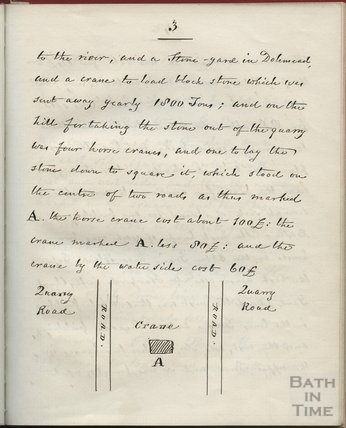 Page extract from The Life of Richard Jones, Clerk of Works to Ralph Allen