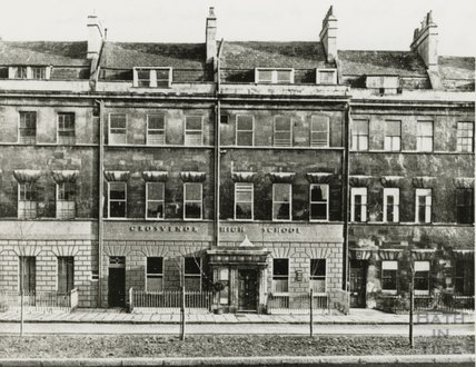 Grosvenor High School, London Road, Bath c.1952
