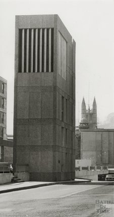 The ventilation shaft for the Beaufort Hotel, 23 March 1981