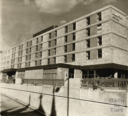 The newly constructed Beaufort Hotel, viewed from Walcot Street, 2 April 1973