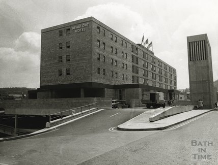 The Beaufort Hotel, Walcot Street, November 1972