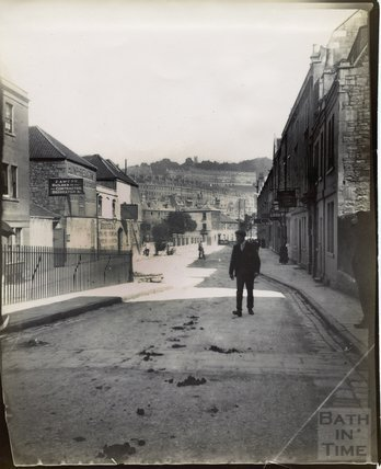 An early view of Grove Street and the turning to Spring Gardens Road, c.1895 - 1902