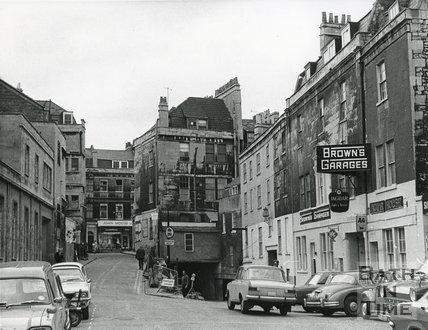 Grove Street looking towards Argyle Street, April 1972