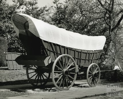 The Conestoga Wagon at the American Museum in Britain, 1993