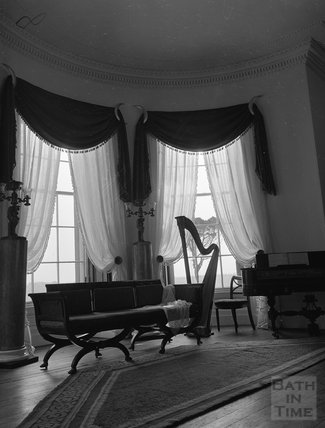 The Greek Revival Room at the American Museum at Claverton c.1960s