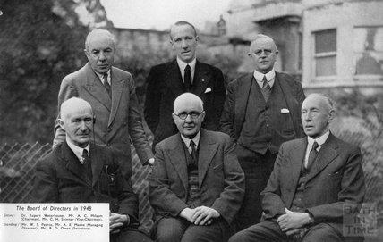 The Board of Directors of Duck Son & Pinker in 1948