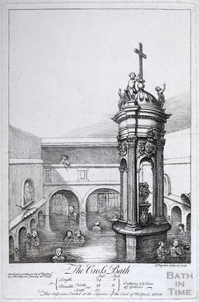 The Cross Bath and Melfort Cross, 1738