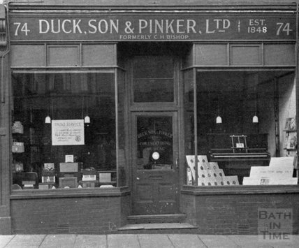 The 74 North Street, Bedminster, Bristol branch of Duck Son & Pinker 1948