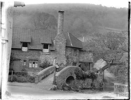 Bridge Cottage, Allerford near Minehead 1930
