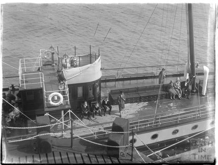 The Glen Usk Steamship at Minehead 1926