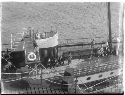 The Glen Usk Steamship at Minehead 1926
