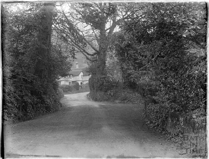 Unknown leafy lane near Minehead 1930